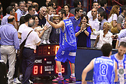 DESCRIZIONE : Milano Lega A 2014-15 EA7 Emporio Armani Milano vs Banco di Sardegna Sassari playoff Semifinale gara 7 <br /> GIOCATORE : Matteo Formenti<br /> CATEGORIA : esultanza postgame<br /> SQUADRA : Banco di Sardegna Sassari<br /> EVENTO : PlayOff Semifinale gara 7<br /> GARA : EA7 Emporio Armani Milano vs Banco di Sardegna SassariPlayOff Semifinale Gara 7<br /> DATA : 10/06/2015 <br /> SPORT : Pallacanestro <br /> AUTORE : Agenzia Ciamillo-Castoria/GiulioCiamillo<br /> Galleria : Lega Basket A 2014-2015 Fotonotizia : Milano Lega A 2014-15 EA7 Emporio Armani Milano vs Banco di Sardegna Sassari playoff Semifinale  gara 7 Predefinita :