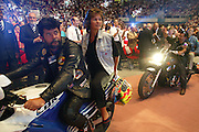 Motard believers on parade during the convention.