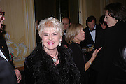 Gloria Hunniford. Conde Nast Traveller Tsunami Appeal dinner. Four Seasons  Hotel. Hamilton Place, London W1. 2 March 2005. ONE TIME USE ONLY - DO NOT ARCHIVE  © Copyright Photograph by Dafydd Jones 66 Stockwell Park Rd. London SW9 0DA Tel 020 7733 0108 www.dafjones.com