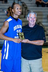 23 June 2012:  Austin Stewart. Illinois Basketball Coaches Association (IBCA) All Star game at Shirk Center, Illinois Wesleyan, Bloomington, IL