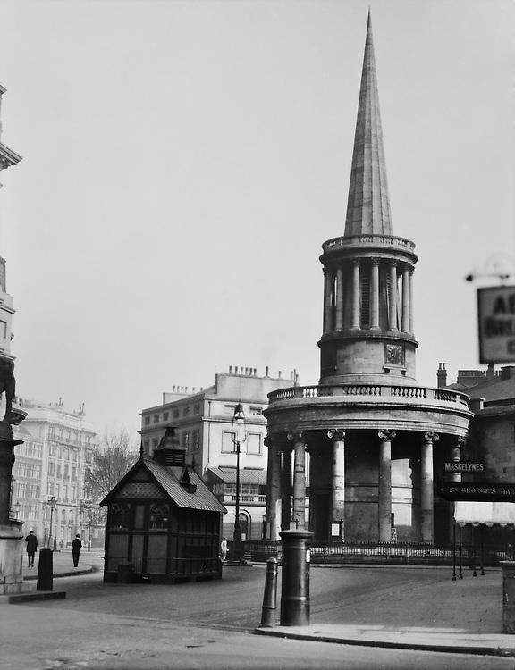 All Souls Church, Langham Place, London, 1910