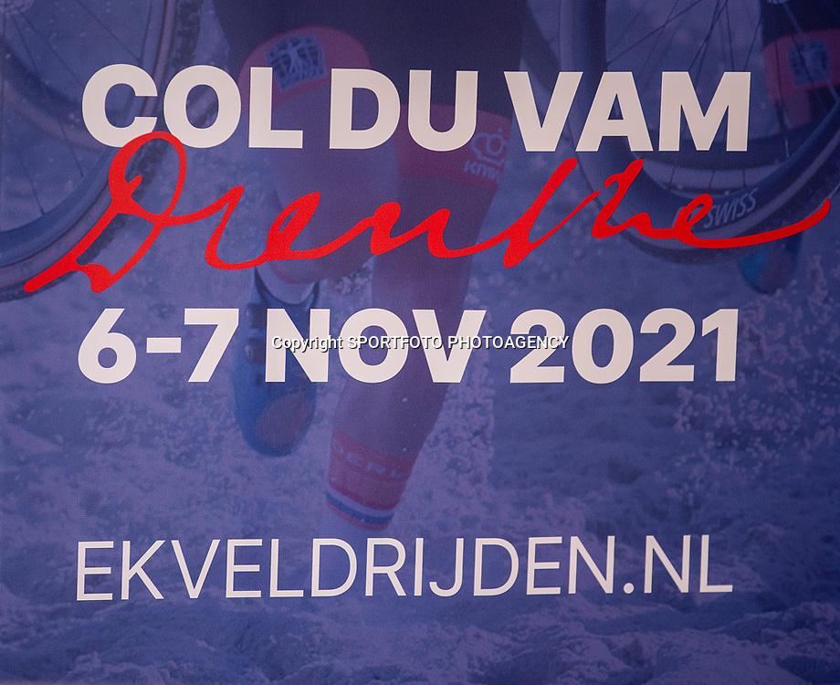 10-05-2021: Wielrennen: persmoment EK veldrijden: Wijster<br />Col du VAM