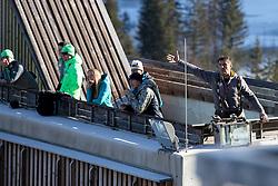 Vasja Bajc during ski jumping training in Nordic Center Planica before Four Hills Tournament, on December 21, 2016 in Nordic, Center Planica, Planica, Slovenia. Photo by Matic Klansek Velej / Sportida
