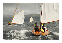 Day five of the Fife Regatta, Race from Portavadie on Loch Fyne to Largs. <br /> <br /> Coralie, Ewan McEwan, GBR, Bermudan Sloop, Wm Fife 3rd, 1928<br /> <br /> * The William Fife designed Yachts return to the birthplace of these historic yachts, the Scotland's pre-eminent yacht designer and builder for the 4th Fife Regatta on the Clyde 28th June–5th July 2013<br /> <br /> More information is available on the website: www.fiferegatta.com