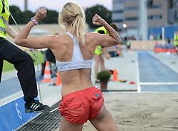 Sparta Copenhagen Athletics Games 2015 in Copenhagen, Denmark, on August 5, 2015. (Søren T. Larsen/EVENTMEDIA).
