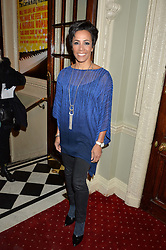 DAME KELLY HOLMES at Beautiful - The Carole King Musical 1st Birthday celebration evening at The Aldwych Theatre, London on 23rd February 2016.