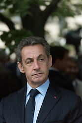 File photo - Former French President Nicolas Sarkozy during a biennial national tribute to the victims of terror attacks organized by the associations of victims, at Hotel des Invalides in Paris, France on September 19, 2016. A French judge has ordered ex-President Nicolas Sarkozy to stand trial in an illegal campaign finance case. Mr Sarkozy faces accusations that his party falsified accounts in order to hide 18m euros of campaign spending in 2012. Mr Sarkozy denies he was aware of the overspending, and will appeal against the order to stand trial. Photo by Jacques Witt/Pool/ABACAPRESS.COM