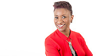 BBC WM DJ Nikki Tapper iplayer and Marketing Portrait for BBC Birmingham.<br /> <br /> Corporate Portrait Photographer Birmingham.