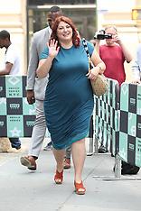 Joy Nash seen at BUILD studios in NYC - 18 June 2018