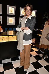 Henrietta Channon at the 2017 PAD Collector's Preview, Berkeley Square, London, England. 02 October 2017.
