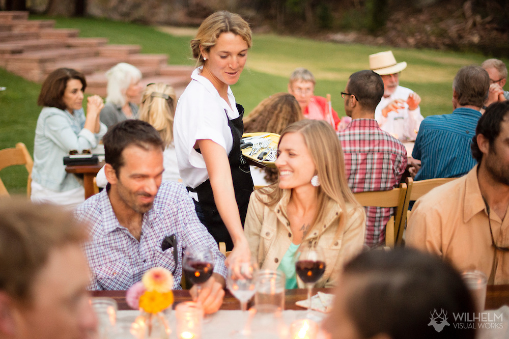 The Cured Farm Dinner at the Riverbend in Lyons, CO. © Brett Wilhelm