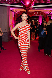 TALI LENNOX at The Naked Heart Foundation's Fabulous Fund Fair hosted by Natalia Vodianova and Karlie Kloss at Old Billingsgate Market, 1 Old Billingsgate Walk, London on 20th February 2016.