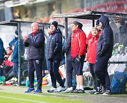 Falkirk's manager Peter Houston. Dunfermline 1 v 1 Falkirk, Scottish Championship game played 26/12/2016 at East End Park.
