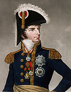Charles XIV & III John (Karl XIV Johan), born Jean-Baptiste Bernadotte, (1763 –  1844) King of Sweden  and King of Norway from 1818 until his death.