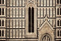 """The facade of Santa Maria del Fiore - Florence – BW""…"