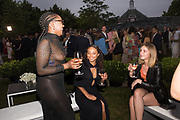 ASHANTI BEDDAUX, LOU BEDDAUX, LELU STOCKBRIDGE, The Serpentine Party pcelebrating the 2019 Serpentine Pavilion created by Junya Ishigami, Presented by the Serpentine Gallery and Chanel,  25 June 2019