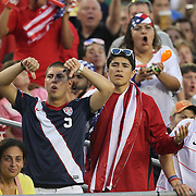 USA supporters boo during a CONCACAF Gold Cup soccer match between the United States and Panama on Saturday, June 11, 2011, at Raymond James Stadium in Tampa, Fla. (AP Photo/Alex Menendez)