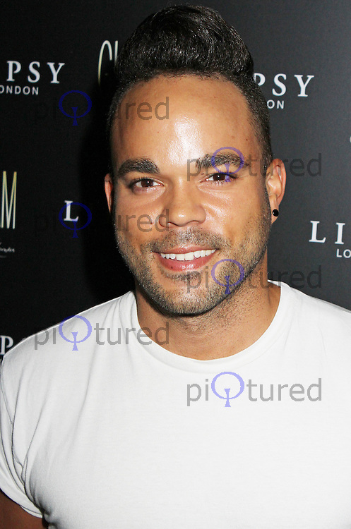 Nate James, Lipsy Glam - Fragrance Launch, The Cumberland Hotel, London UK, 29 August 2013, (Photo by Brett D. Cove)
