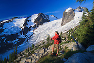 Hiking in Bugaboo Glacier Provincial Park, BC, Canada