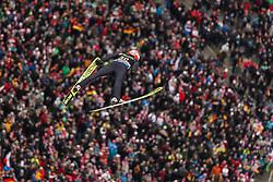 08.02.2020, Mühlenkopfschanze, Willingen, GER, FIS Weltcup Skisprung, Willingen, Herren, Wertungsdurchgang, im Bild Markus Eisenbichler (GER) // during his competition jump for the men's FIS Skijumping World Cup at the Mühlenkopfschanze in Willingen, Germany on 2020/02/08. EXPA Pictures © 2020, PhotoCredit: EXPA/ Tadeusz Mieczynski