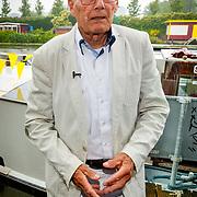 NLD/Amsterdam/20180614 - Doop rondvaartboot Jan Jansen, Jan doopt zijn eigen rondvaartboot van 't Smidje