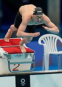 Zac Reid Men's 400m Freestyle heat, Tokyo Aquatics Centre. Tokyo 2020 Olympic Games. Saturday 24th July 2021. Mandatory credit: © John Cowpland / www.photosport.nz