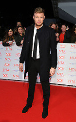 Andrew Flintoff attending the National Television Awards 2018 held at the O2, London. Photo credit should read: Doug Peters/EMPICS Entertainment