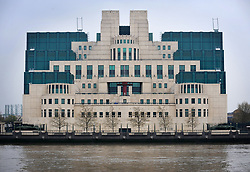 File photo dated 12/04/09 of a general view of the Secret Intelligence Service building headquarters of MI6 at Vauxhall Cross in central London, as the Duke and Duchess of Cambridge have made a return trip to the headquarters of MI6 to meet the nation's spies.
