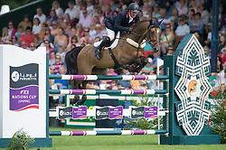 Williams Guy (GBR) - Zaire<br /> Furusiyya FEI Nations Cup<br /> International Horse Show - Hickstead 2014<br /> © Hippo Foto - Jon Stroud