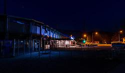 THEMENBILD - das gesperrte Fussballstadion des Cashpoint SCR Altach. Wegen des Coronavirus wurde der Spielbetrieb in der Österreichischen Bundesliga eingestellt. Wann Fussballspiele wieder stattfinden können ist aktuell noch unklar, aufgenommen am 11. April 2020 Cashpoint Arena, Altach, Österreich // the closed Football Stadium of Cashpoint SCR Altach. Due to the Corona crisis, the Austrian League was suspended. It is not yet clear when soccer matches will take place, Cashpoint Arena, Altach, Austria on 2020/04/11. EXPA Pictures © 2020, PhotoCredit: EXPA/ Peter Rinderer