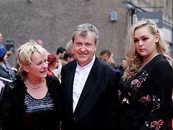 Edinburgh International Film Festival 2019<br /> <br /> Mrs Lowry And Son (World Premiere, closing night gala)<br /> <br /> Pictured: Joanne Pearce, Director Adrian Noble and Rose Noble<br /> <br /> Aimee Todd   Edinburgh Elite media