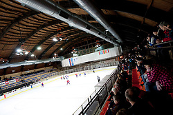 Arena  during the ice hockey match between National teams of Croatia (CRO) and Slovenia (SLO) at 2011 IIHF World U20 Championship Division I - Group B, on December 12, 2010 in Ice skating Arena, Bled, Slovenia.  (Photo By Vid Ponikvar / Sportida.com)