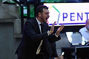 Nicola Brienza<br /> De Longhi Treviso - Dolomiti Energia Aquila Basket Trento<br /> Legabasket Serie A UnipolSAI 2020/2021<br /> Treviso, 26/09/2020<br /> Foto M.Ceretti / Ciamillo-Castoria