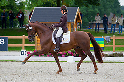 Pauluis Larissa, BEL, First Step Valentin<br /> Longines FEI/WBFSH World Breeding Dressage Championships for Young Horses - Ermelo 2017<br /> © Hippo Foto - Leanjo De Koster<br /> 05/08/2017