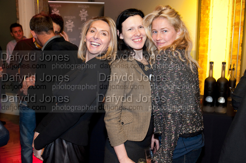 ALISON HARGREAVES; KATIE GRAND; ANGIE KIRK, GQ STYLE ÔMan UpÕ party that Dylan Jones and Paul Smith co-hosted. Kingsway. London. 24 March 2010<br /> ALISON HARGREAVES; KATIE GRAND; ANGIE KIRK, GQ STYLE 'Man Up' party that Dylan Jones and Paul Smith co-hosted. Kingsway. London. 24 March 2010