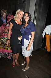 Left to right, ELISABETH MURDOCH and TRACEY EMIN at the Harper's Bazaar Women of the Year Awards 2008 at The Landau, The Langham Hotel, Portland Place, London on 1st September 2008.<br /> <br /> NON EXCLUSIVE - WORLD RIGHTS