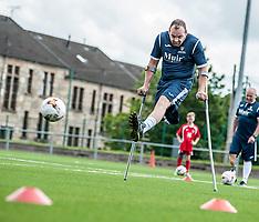 Scotland amputee football squad prepare for Europe   Glasgow   18 June 2017