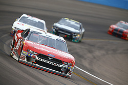 March 10, 2018 - Avondale, Arizona, United States of America - March 10, 2018 - Avondale, Arizona, USA: Ryan Reed (16) brings his car through the turns during the DC Solar 200 at ISM Raceway in Avondale, Arizona. (Credit Image: © Chris Owens Asp Inc/ASP via ZUMA Wire)