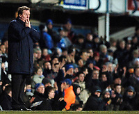 Photo: Daniel Hambury.<br />Portsmouth v Liverpool. The FA Cup. 29/01/2006.<br />Portsmouth's manager Harry Redknapp watches his side crash out of the FA Cup.