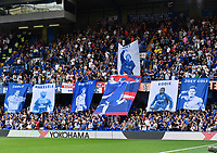 Football - 2019 / 2020 Premier League - Chelsea vs. Sheffield United<br /> <br /> Chelsea flags on display before the game, at Stamford Bridge.<br /> <br /> COLORSPORT/ASHLEY WESTERN