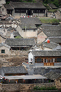 A view of Chuandixia. Settlers from Shanxi Province founded the city over 500 years ago, mostly for the business opportunities that abounded on the ancient road from Shanxi Province to Beijing. Wayfarers needed places to stay and food to eat on their rigorous trek through the mountains. The town also served as a postal station. Under these conditions, Chuandixia flourished, even in its position near one of the most remote outposts of the Great Wall. ....