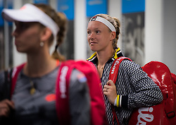 December 31, 2018 - Brisbane, AUSTRALIA - Kiki Bertens of the Netherlands before her first-round match at the 2019 Brisbane International WTA Premier tennis tournament (Credit Image: © AFP7 via ZUMA Wire)