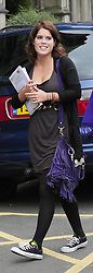 File photo dated 24/09/09 of Princess Eugenie arriving at Newcastle University student induction to start her university life. Buckingham Palace has announced that Princess Eugenie has become engaged to Jack Brooksbank.