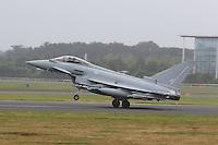 Eurofighter Typhoon, Farnborough International Airshow, London Farnborough Airport UK, 15 July 2016, Photo by Richard Goldschmidt