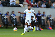 Wayne Routledge of Swansea city in action. Swansea city v Sampdoria , pre-season friendly at the Liberty Stadium in Swansea, South Wales on Saturday August 5th 2017.<br /> pic by Andrew Orchard, Andrew Orchard sports photography.