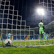 Besiktas's scores during their Turkish Superleague soccer match Kasimpasa SK between Besiktas at the Recep Tayyip Erdogan stadium in Istanbul Turkey on Saturday 18 April 2015. Photo by Aykut AKICI/TURKPIX