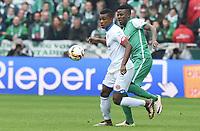 v.l. Jhon Cordoba, Papy Djilobodji (Bremen)<br /> Bremen, 19.03.2016, Fussball Bundesliga, SV Werder Bremen - 1. FSV Mainz 05<br /> Norway only