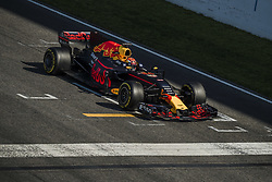 March 10, 2017 - Montmelo, Catalonia, Spain - MAX VERSTAPPEN (NED) of team Red Bull practices the start on track during day 8 of Formula One testing at Circuit de Catalunya (Credit Image: © Matthias Oesterle via ZUMA Wire)