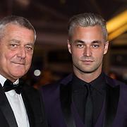 NLD/Amsterdam/20171012 - Televizier-Ring Gala 2017, Jan Kooijman met zijn vader