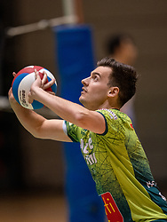 Stijn Held of Orion in action during the league match between Active Living Orion vs. Amysoft Lycurgus on March 20, 2021 in Doetinchem.
